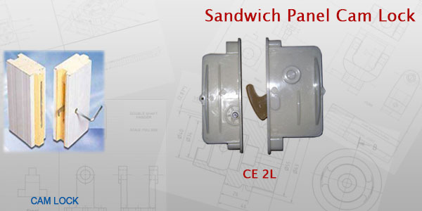Sandwich Cam Lock
